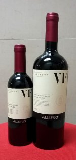 Valle Frio (VF) Reserva Cabernet Sauvignon 375ml HLAF BOTTLE